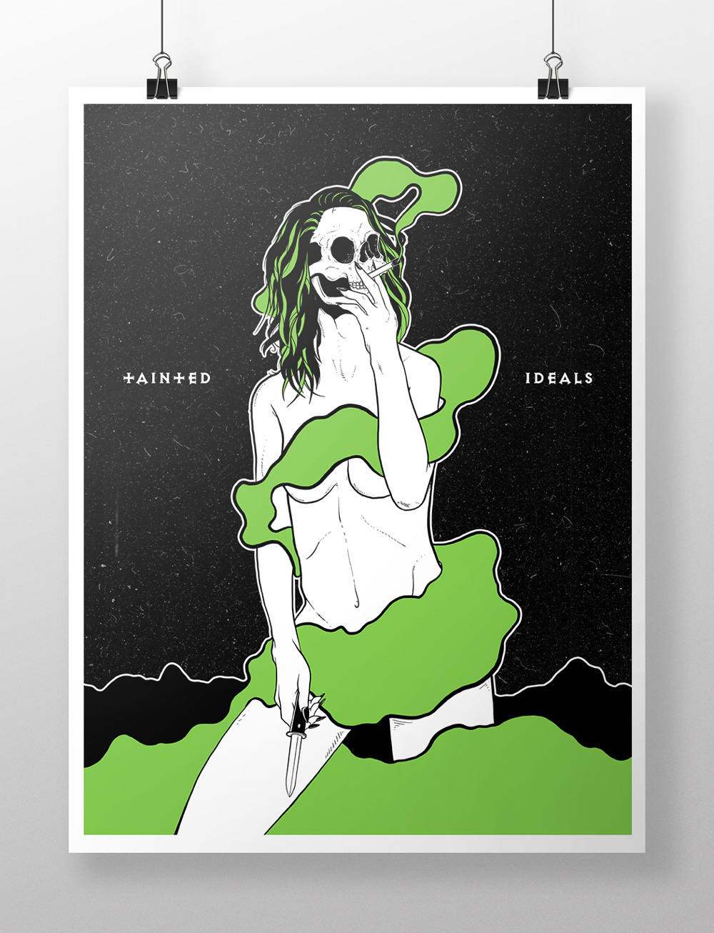 Tainted Ideals 8x10 - $17.99 (Other sizes available)