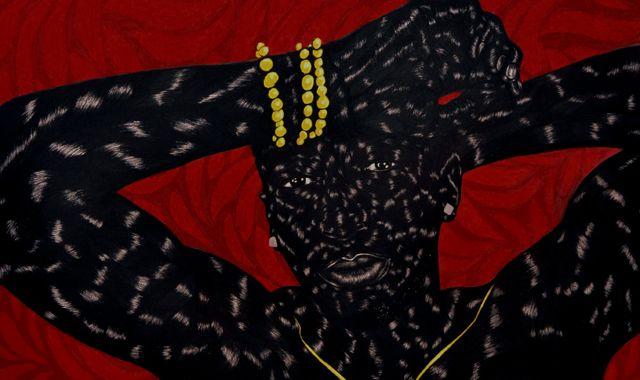 Toyin Odutola's Rich Figures    MODERN PAINTERS |  MAY 3, 2014