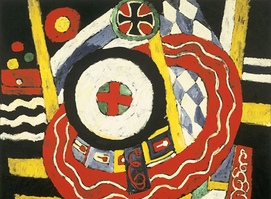 Deciphering Modernist Marsden Hartley's Coded Paintings     A  RCHITECTURAL DIGEST  |  JULY 30, 2014