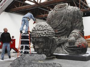 Zhang Huan's Buddha Means Business    ART IN AMERICA  |  DECEMBER 10, 2009