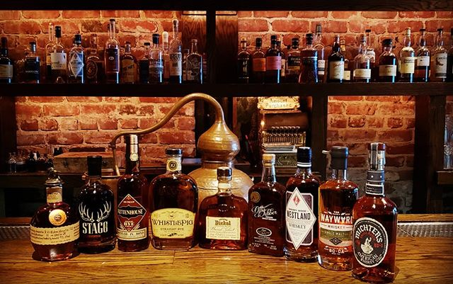 We are very excited for tonight's  class! We will tasting all  the goodies #bourbon #rye #california #whiskeyfordays