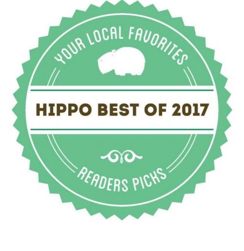 2017 Hippo Press winner Best Salon - 5 Diamond Salon  2017 Best stylist- Samantha Courtois  2017 Best Makeup Artist- Jaci Lee