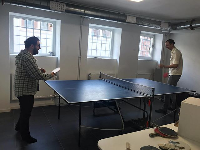 Fun fact: we have a pingis table! 🏓