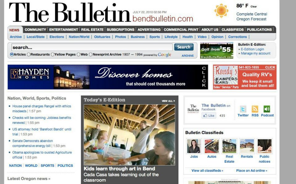 The Bulletin covers cada casa's mural project