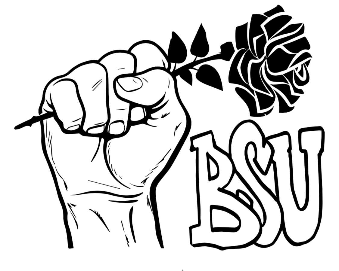 Cleaned design voted by the Black Student Union to represent their club