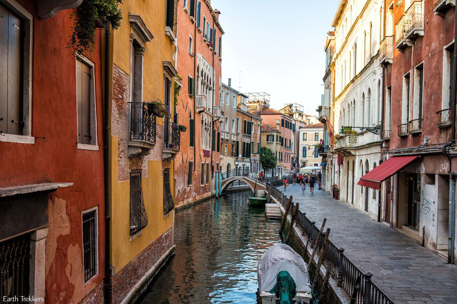 The canals of Venice by Gandola
