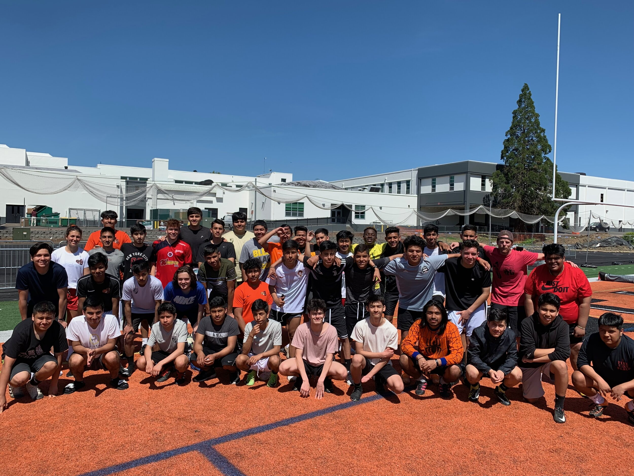 The '18-'19 boys MCFC program