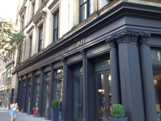 RH Broadway Ave., NYC Storefront