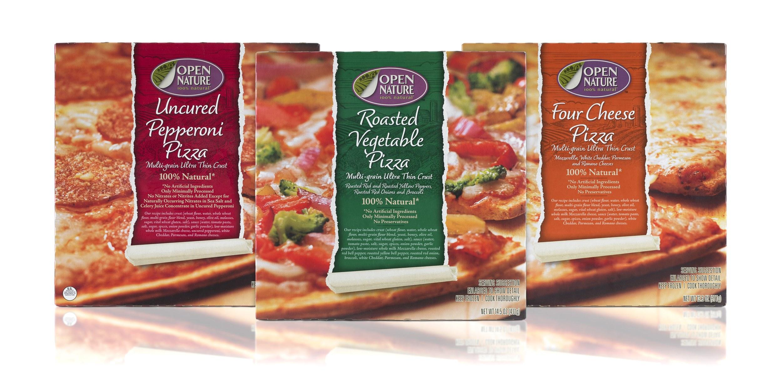Safeway Open Nature Frozen Pizzas