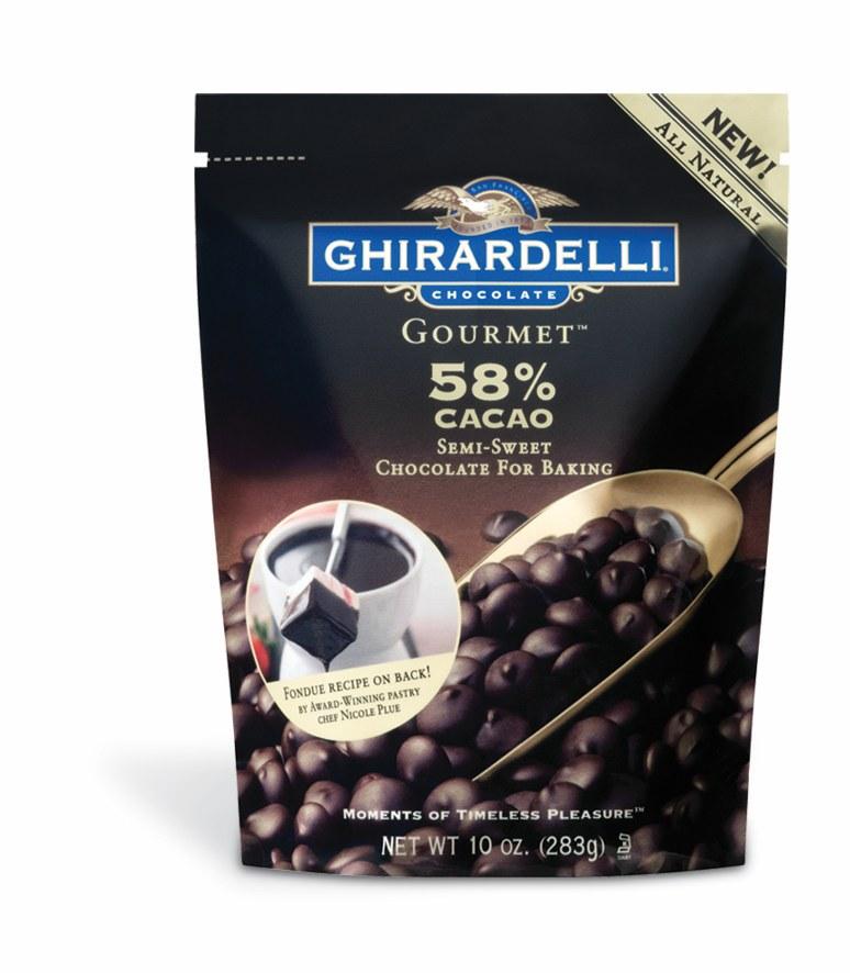 Ghirardelli Chocolate Gourmet Chocolate Chips Bag