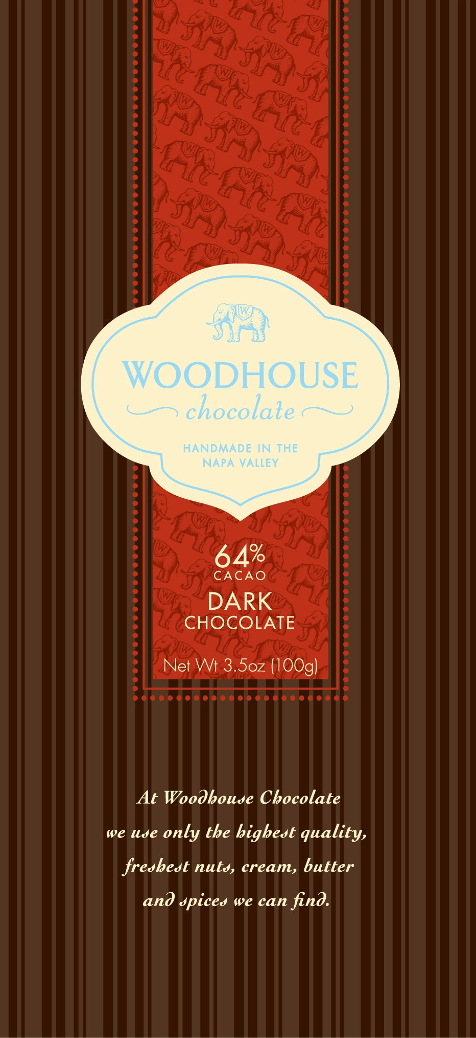 Woodhouse Chocolate Bar Line