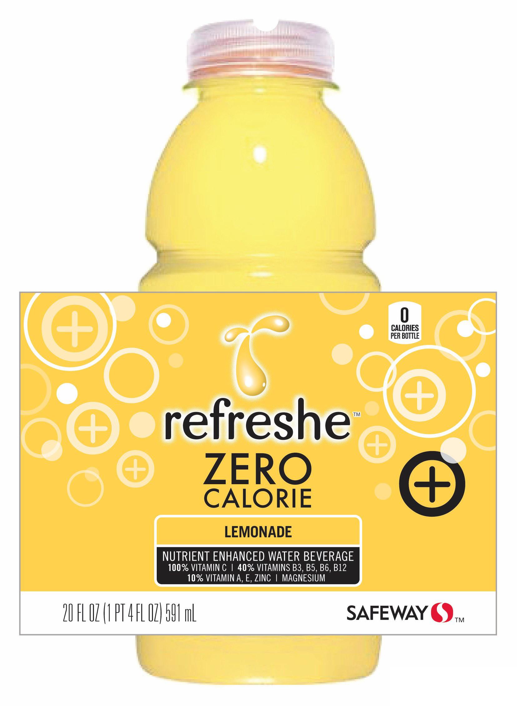 Safeway Refreshe Vitamin Water