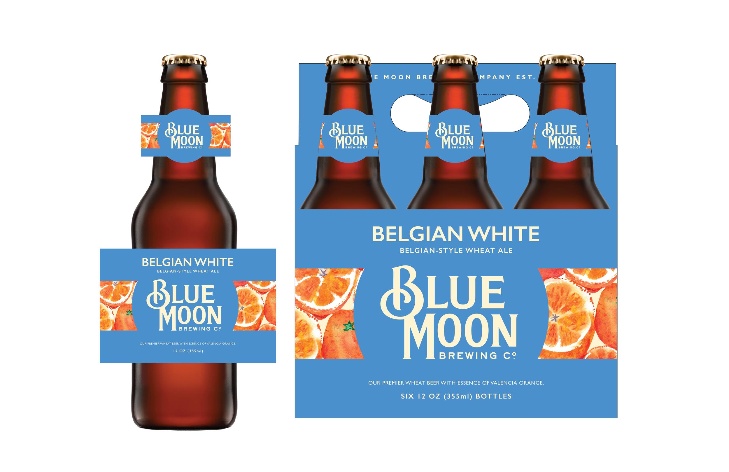 Blue Moon Brewing Co. Packaging Update