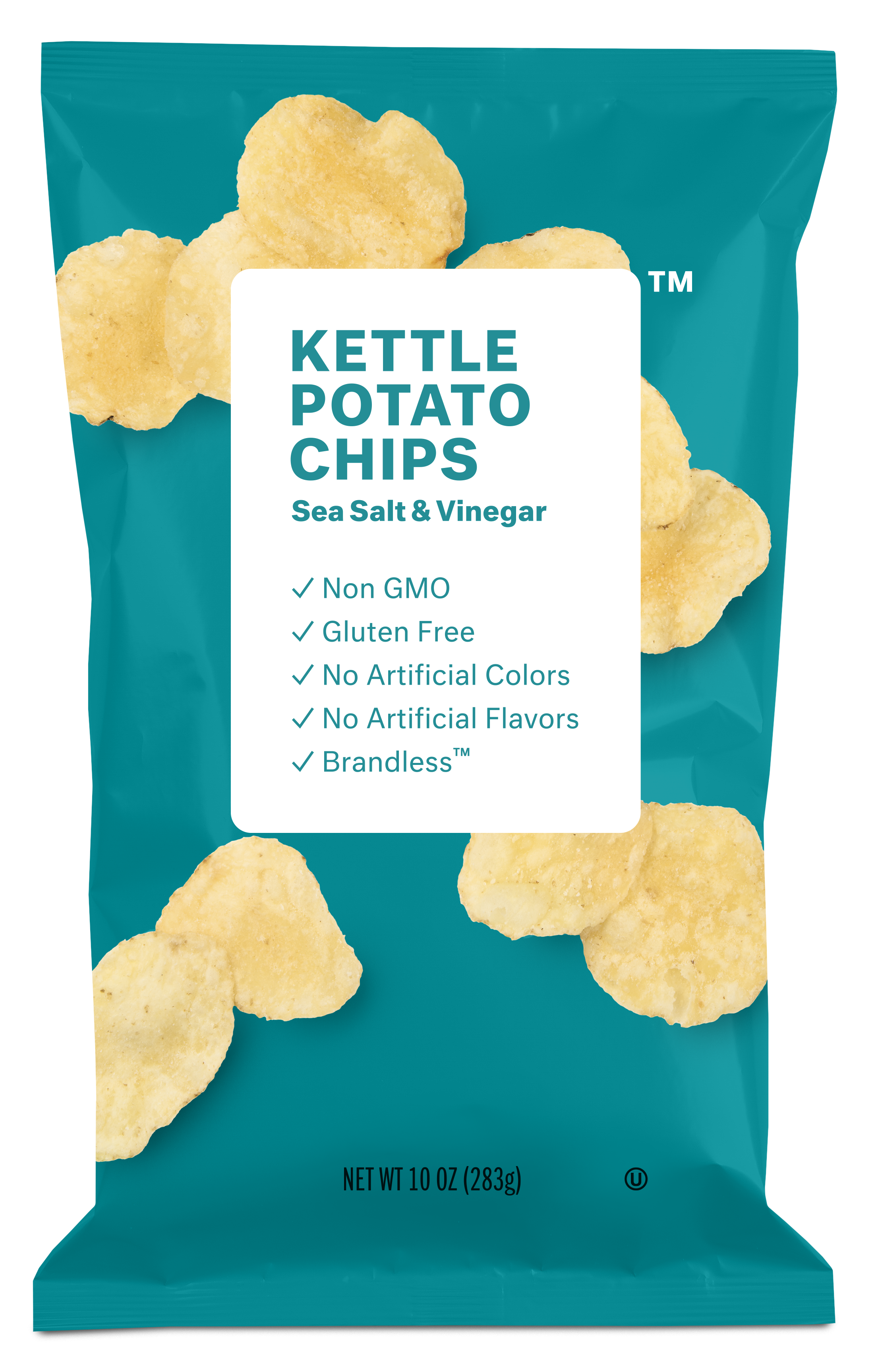 Brandless Kettle Potato Chips: Sea Salt & Vinegar