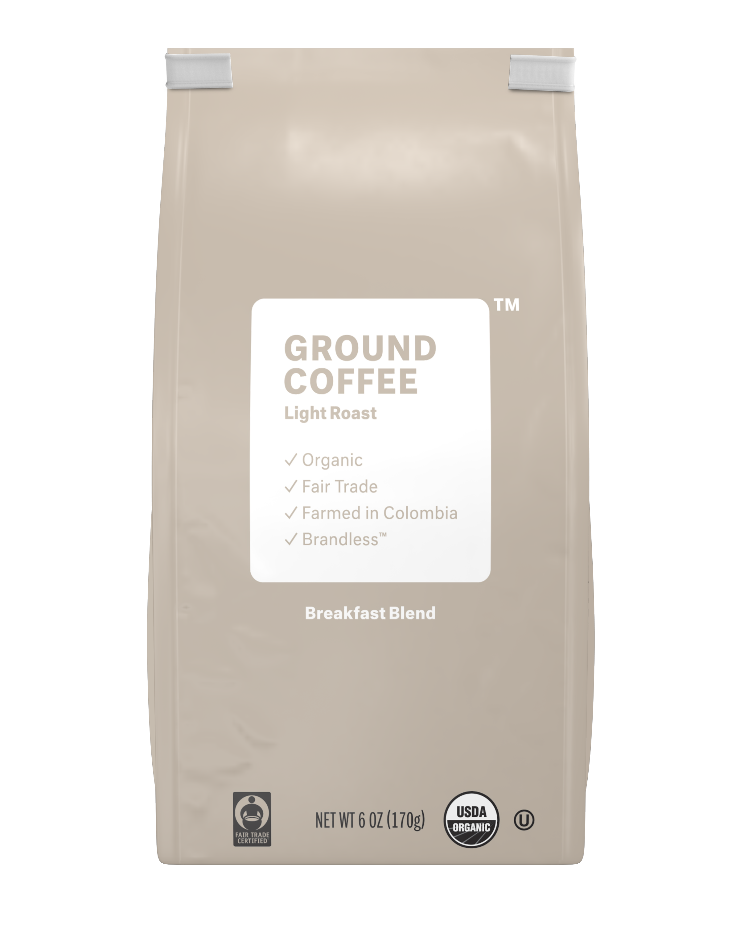 Brandless: Ground Coffee, Light Roast