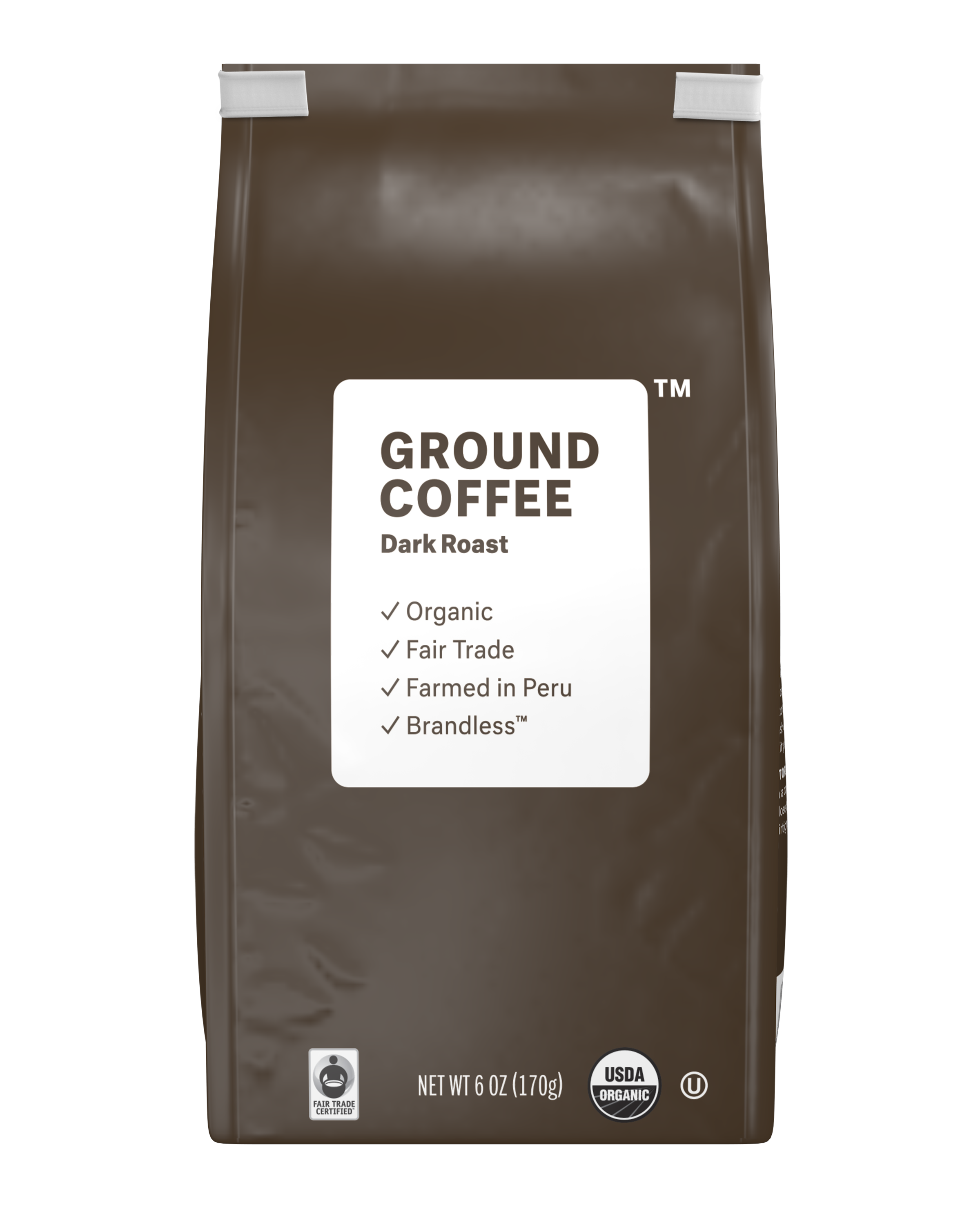 Brandless: Ground Coffee, Dark Roast