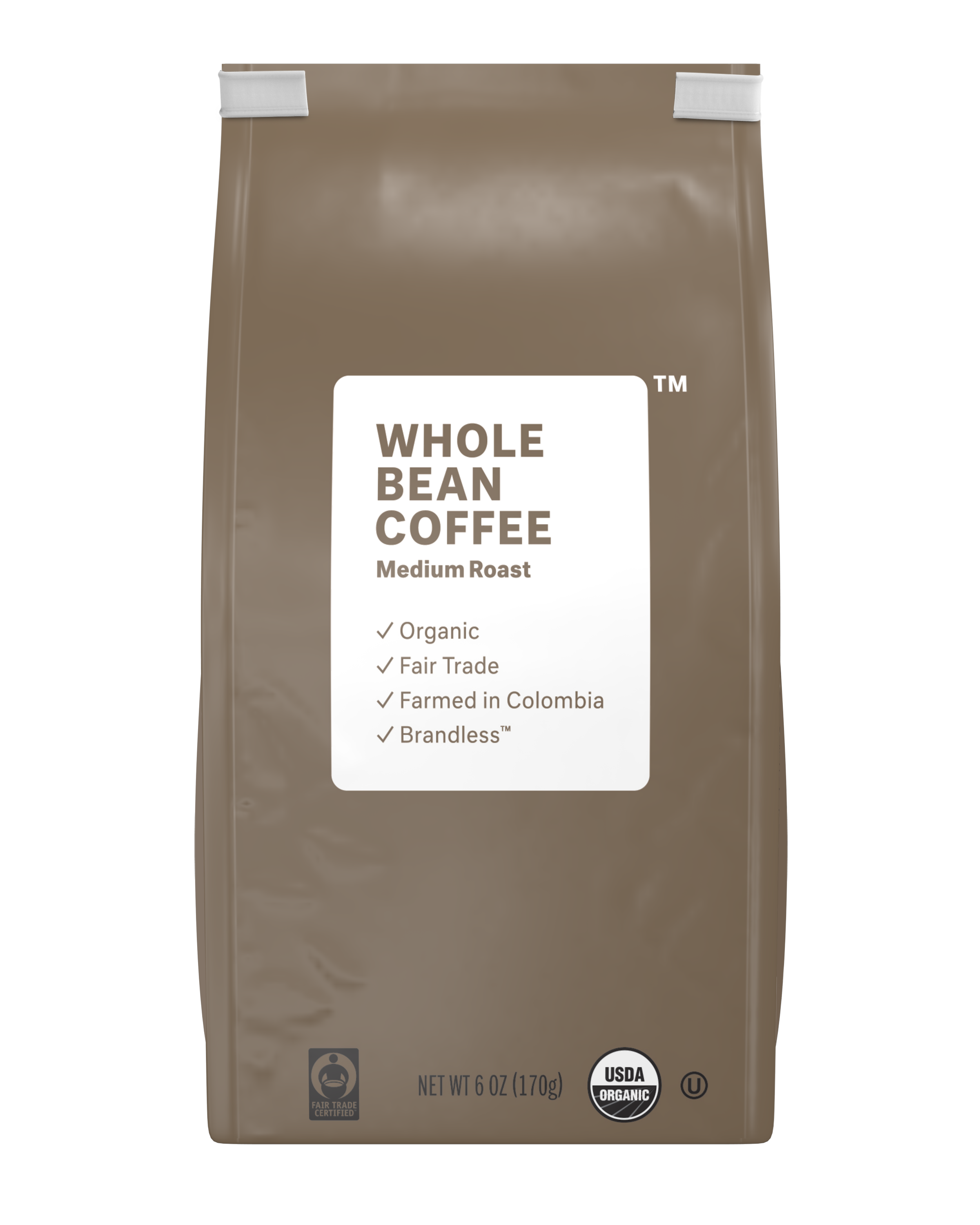 Brandless: Whole Bean Coffee, Medium Roast