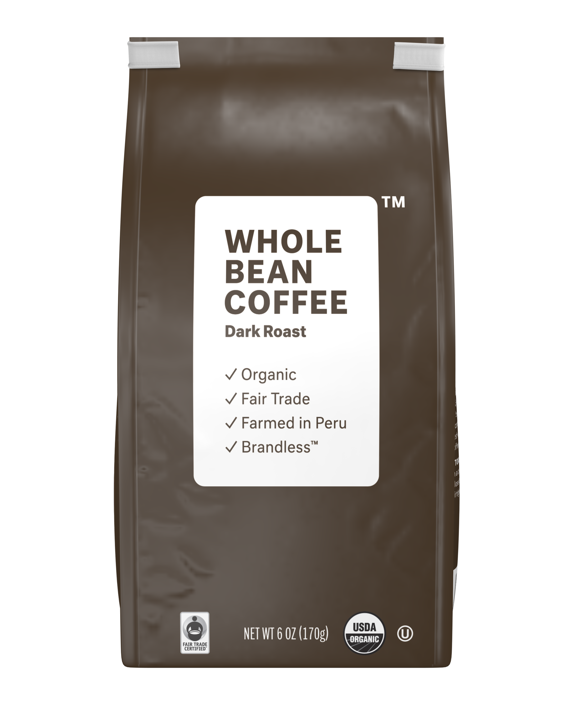 Brandless: Whole Bean Coffee, Dark Roast