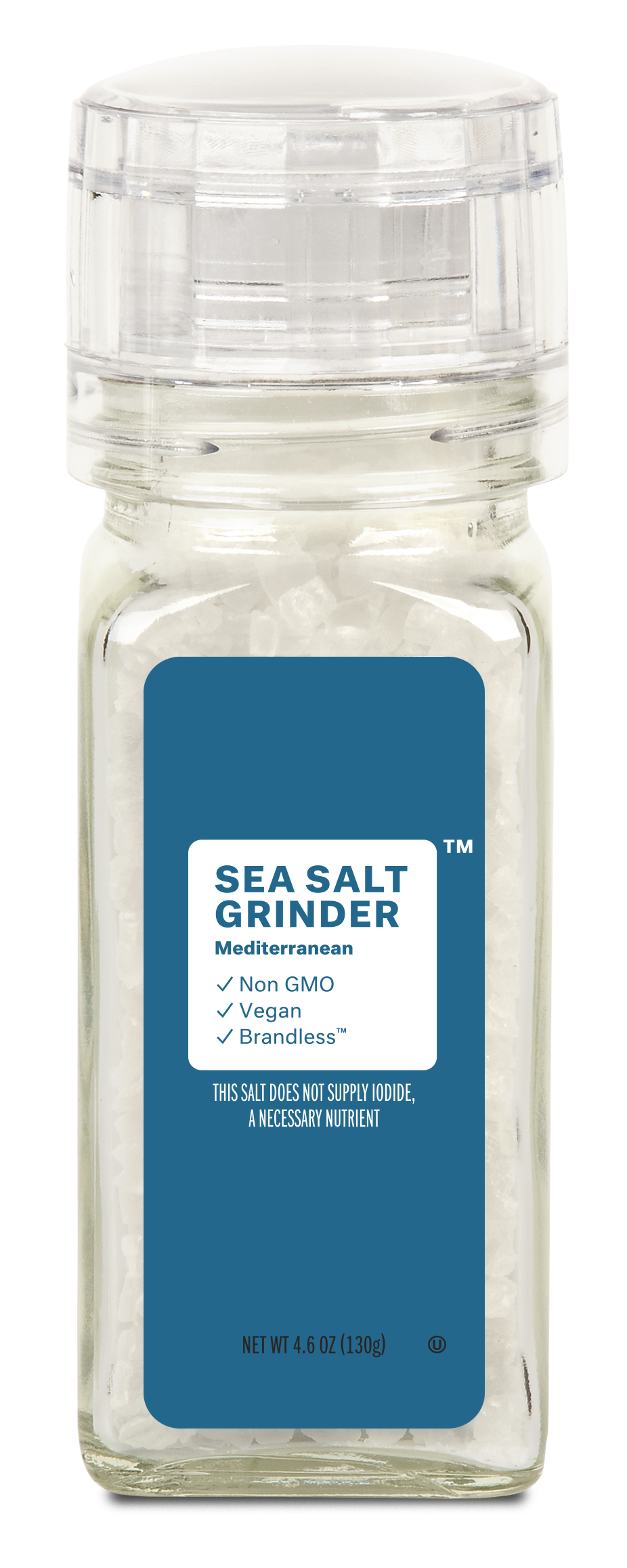 Brandless: Sea Salt Grinder, Mediterranian