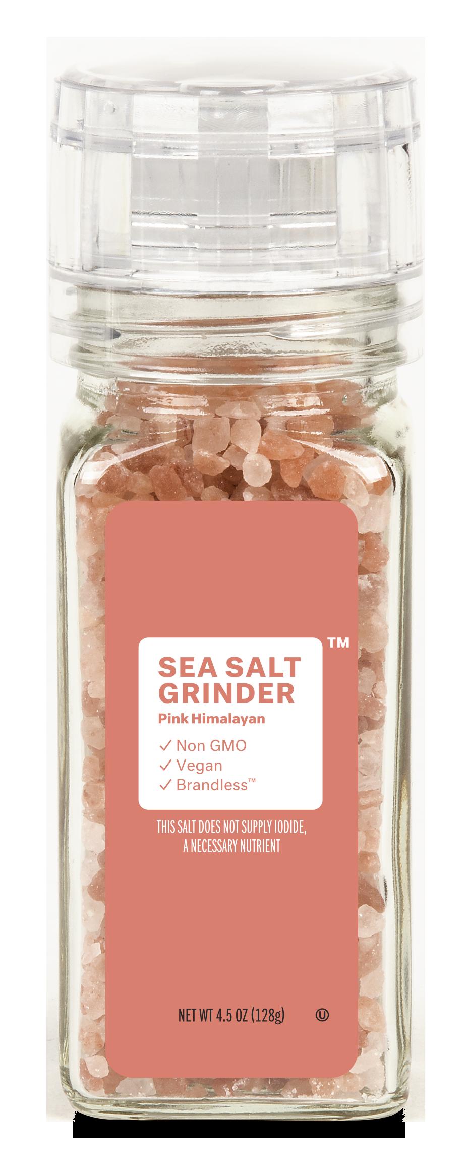 Brandless: Sea Salt Grinder, Pink Himalayan