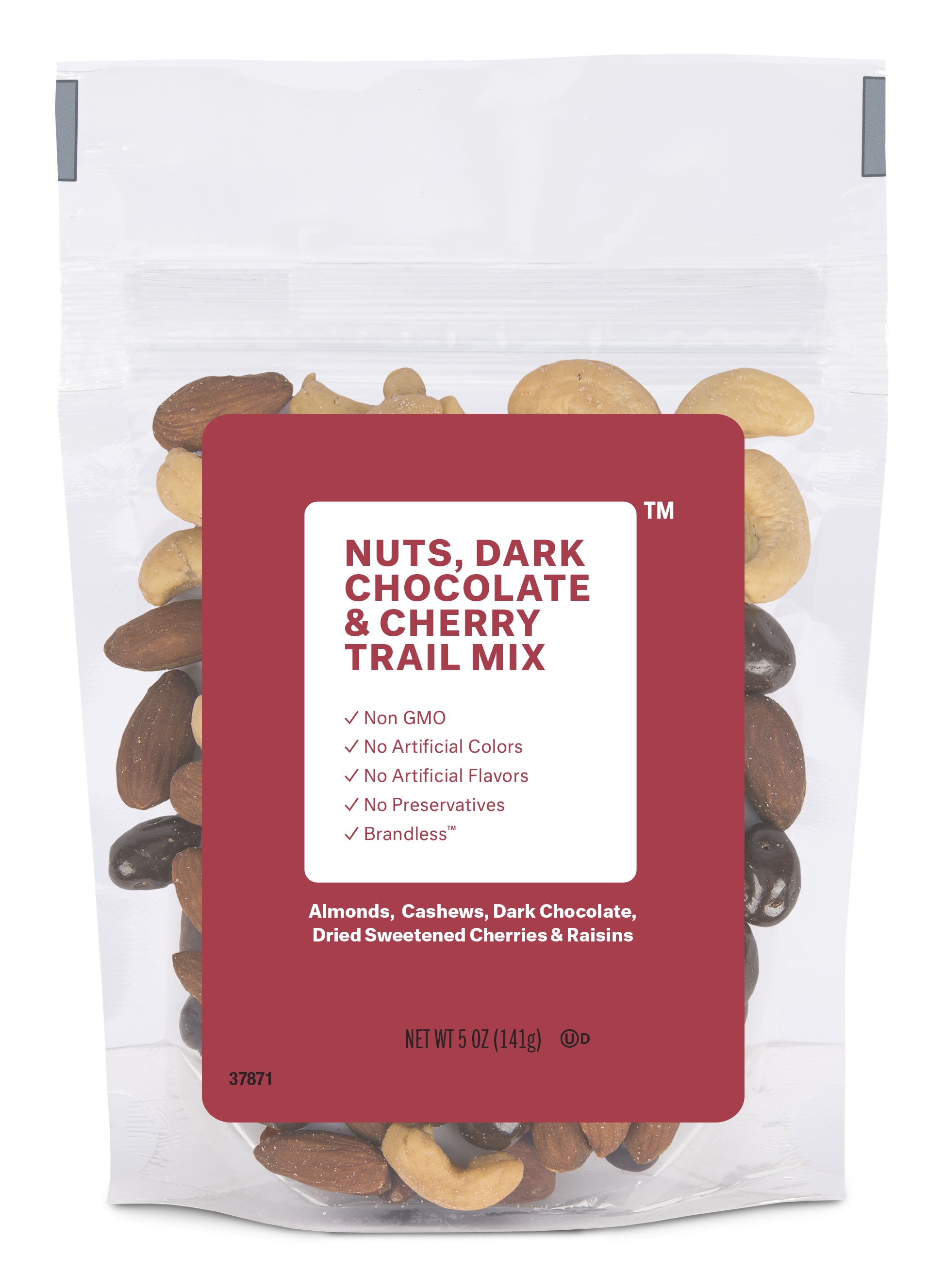 Brandless: Nuts, Dark Chocolate & Cherry Trail Mix
