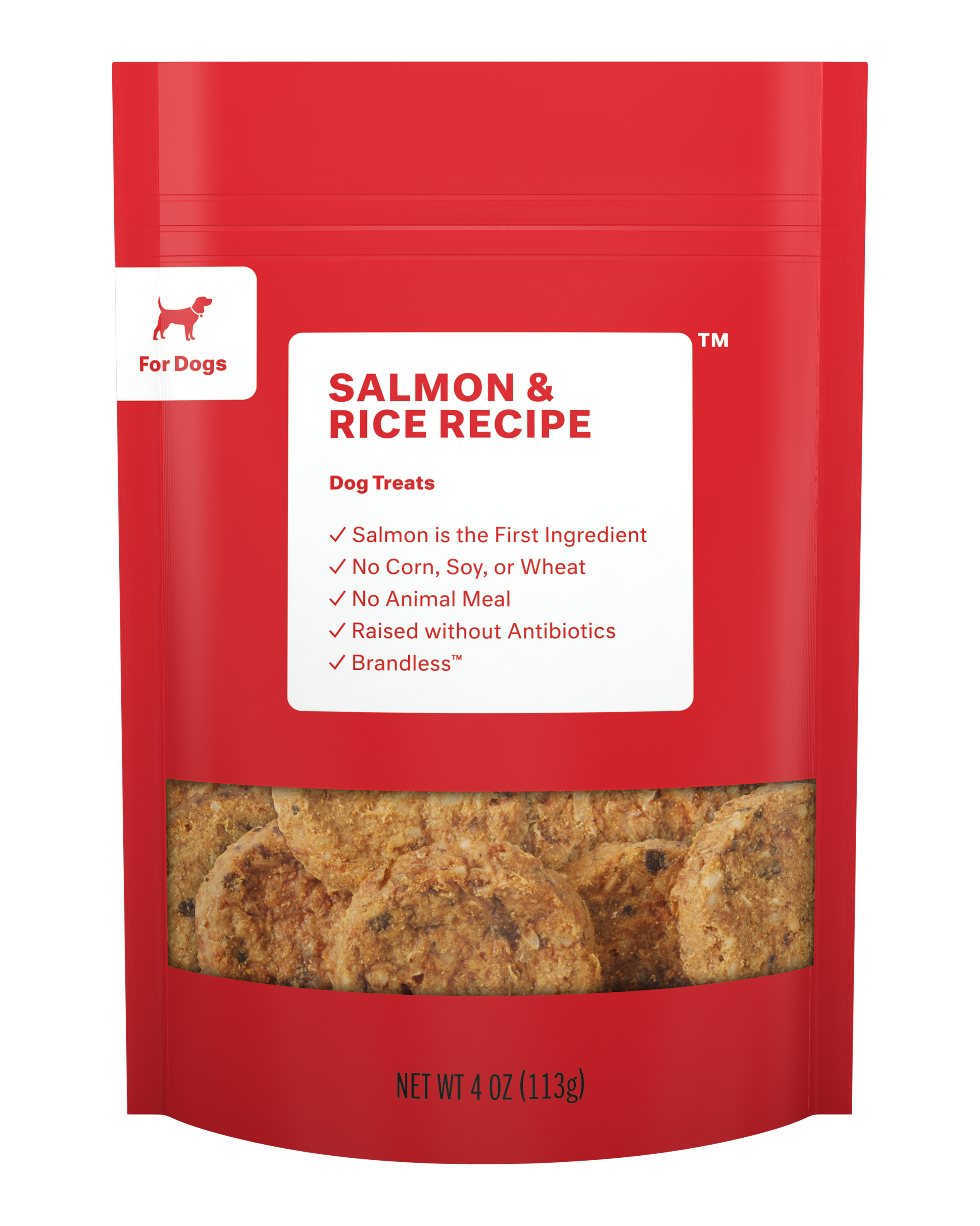 Brandless: Dog Treats, Salmon Jerky