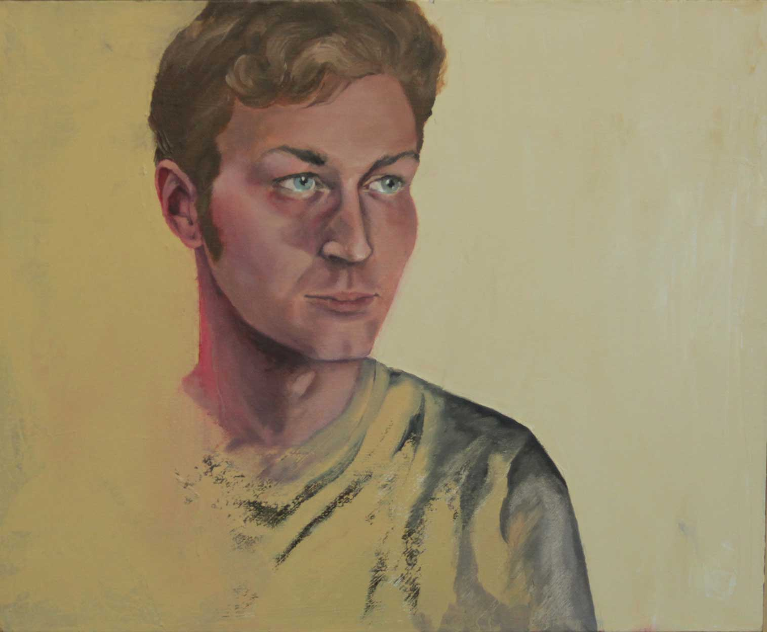 "Matthew, ""x,"" oil on canvas"