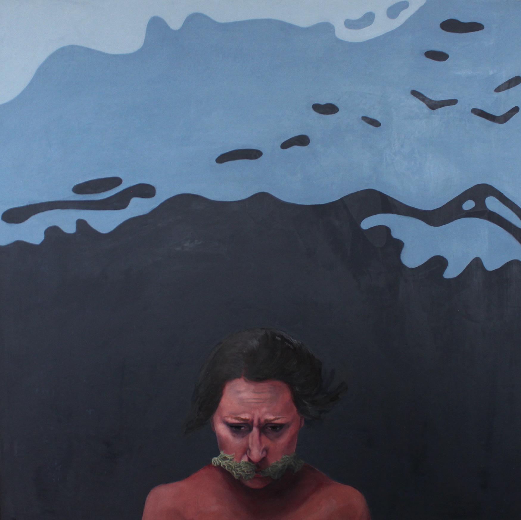 """Exhibit 8, 30""""x30,"""" oil on canvas"""