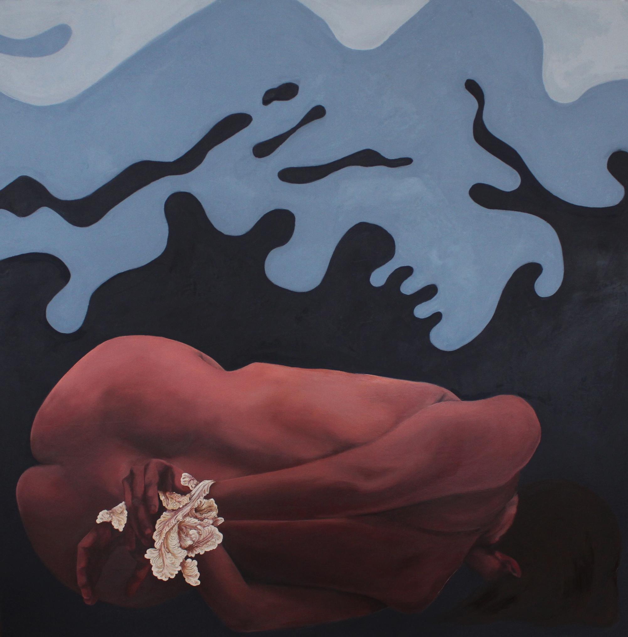 """Exhibit 10, 30""""x30,"""" oil on canvas"""
