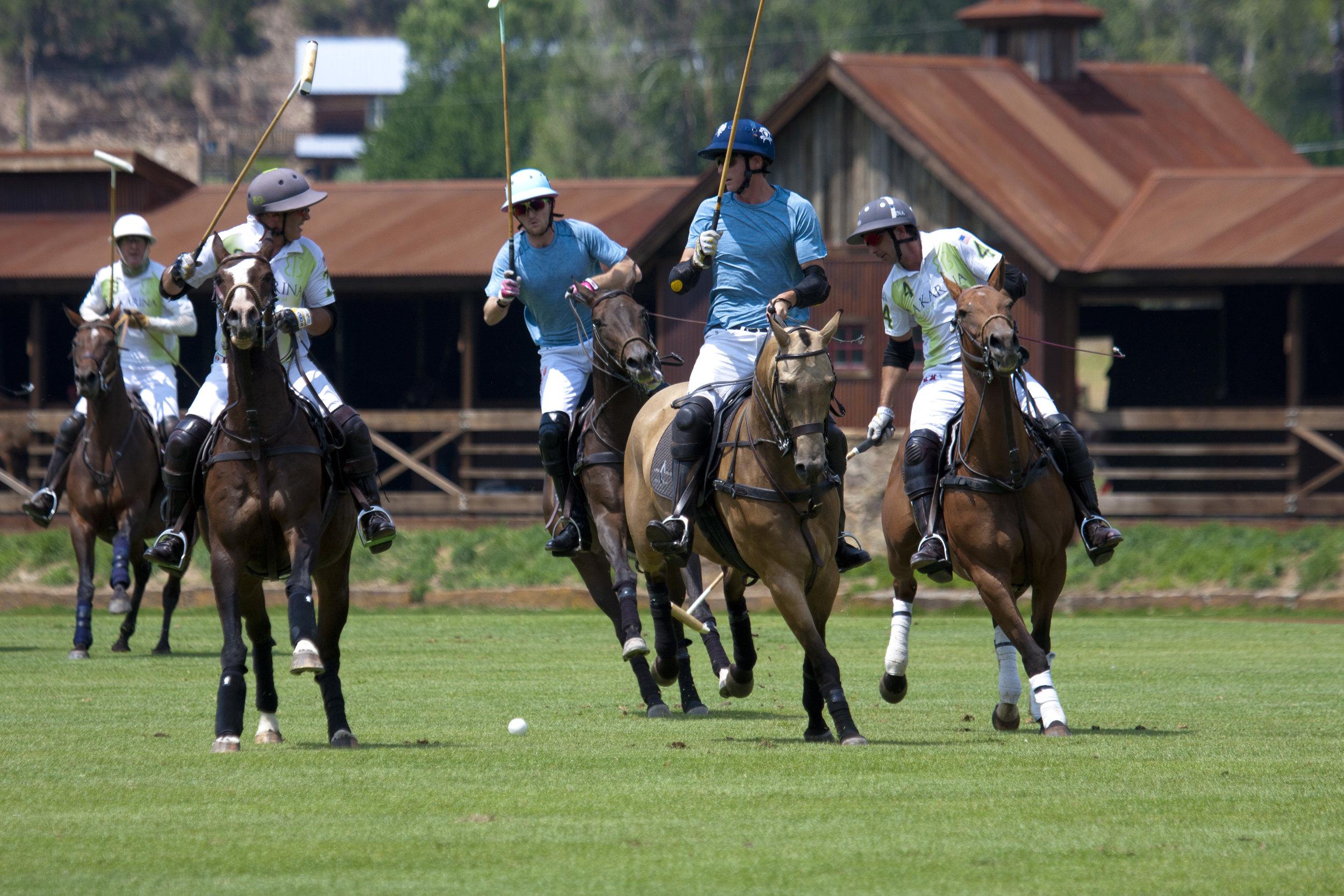 Grant Ganzi of Piocho Ranch passes the ball to.JPG