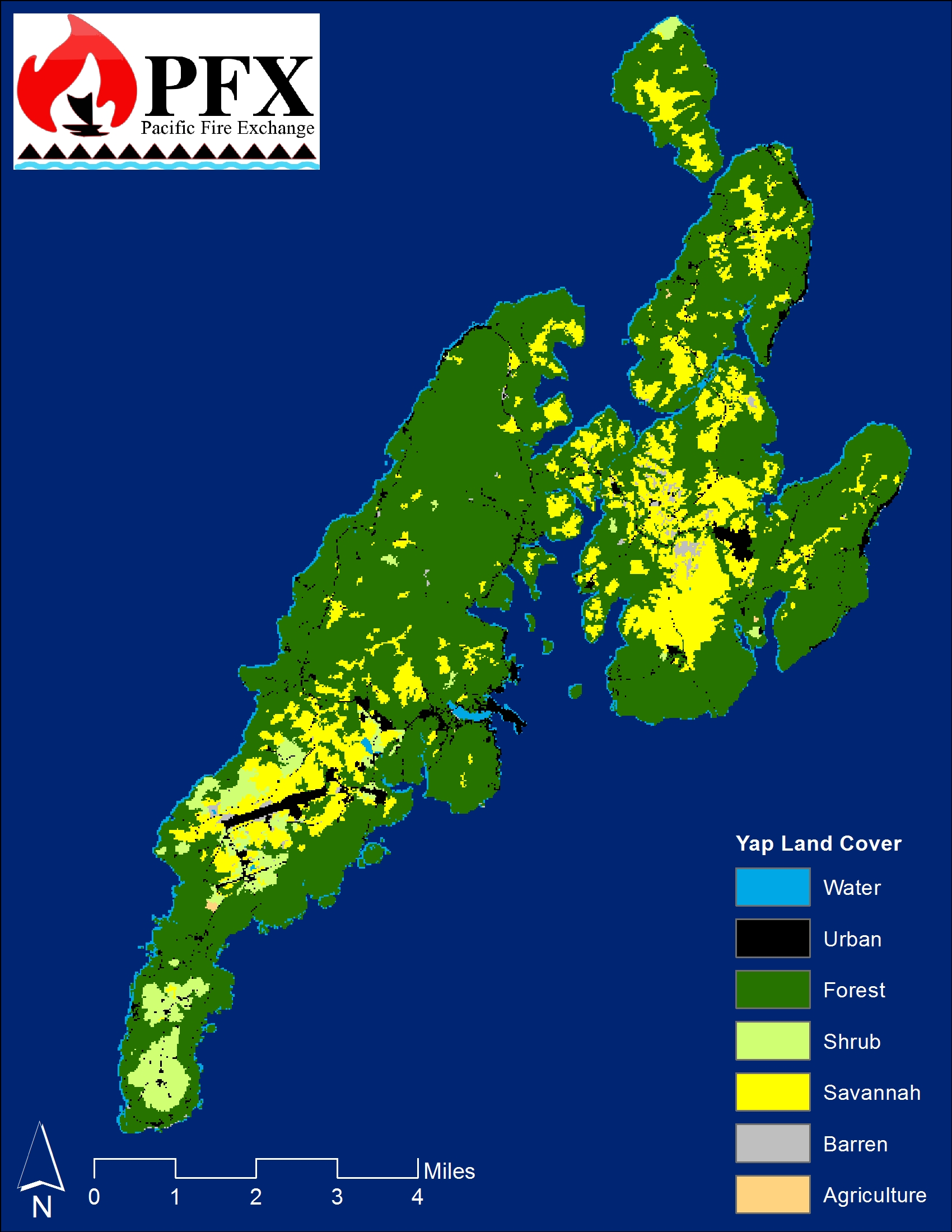 Yap Land Cover