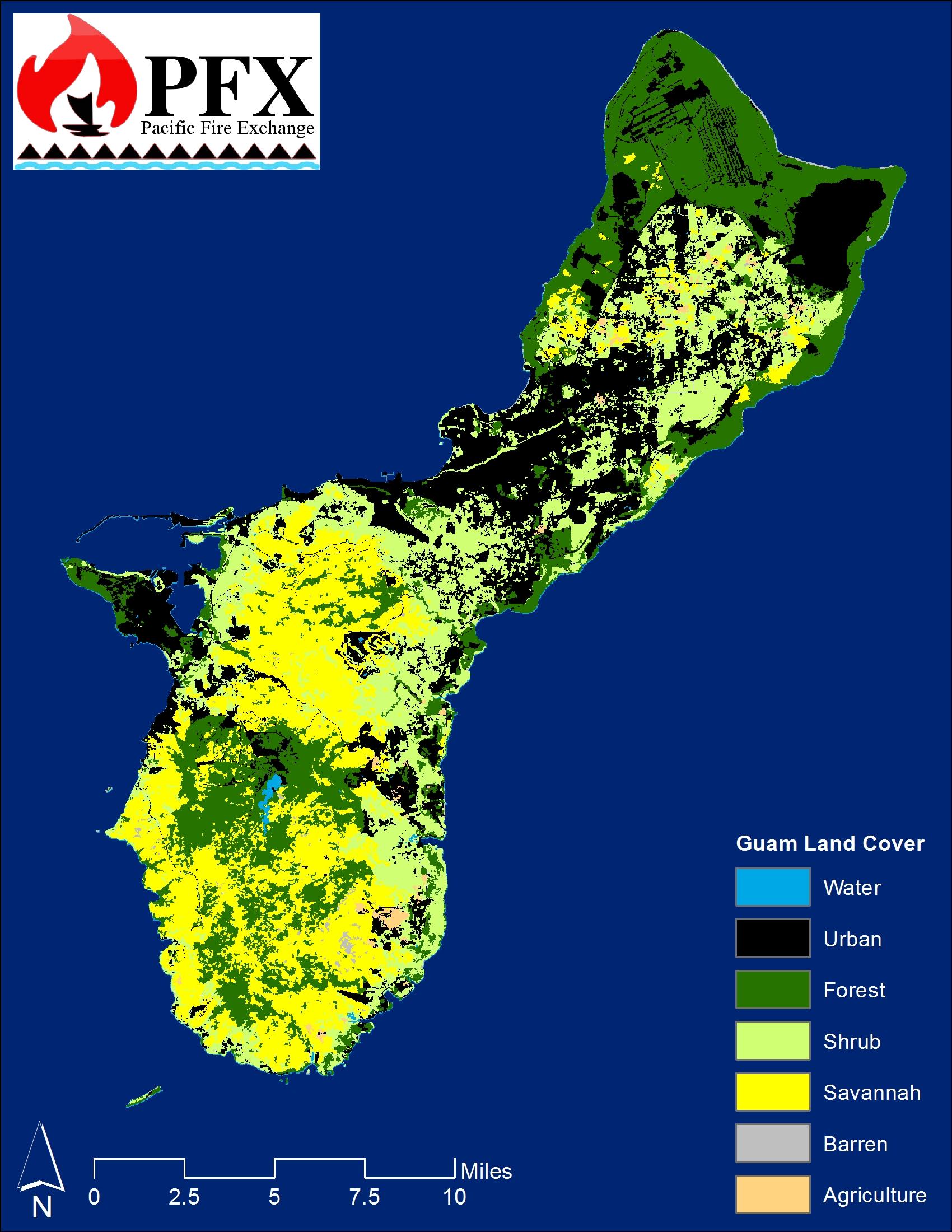 Guam Land Cover