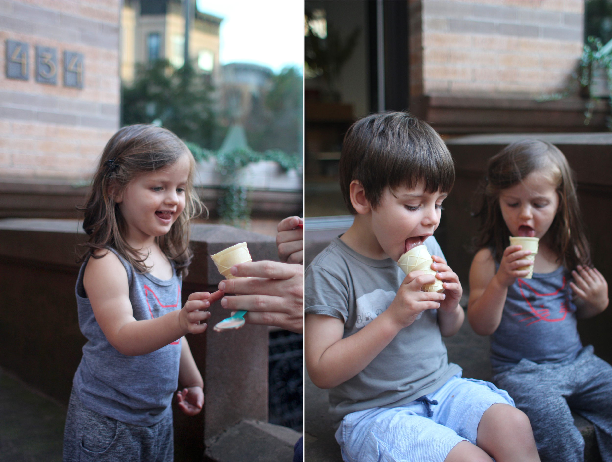 Ice cream on the stoop? Sounds like the perfect way to end the summer.