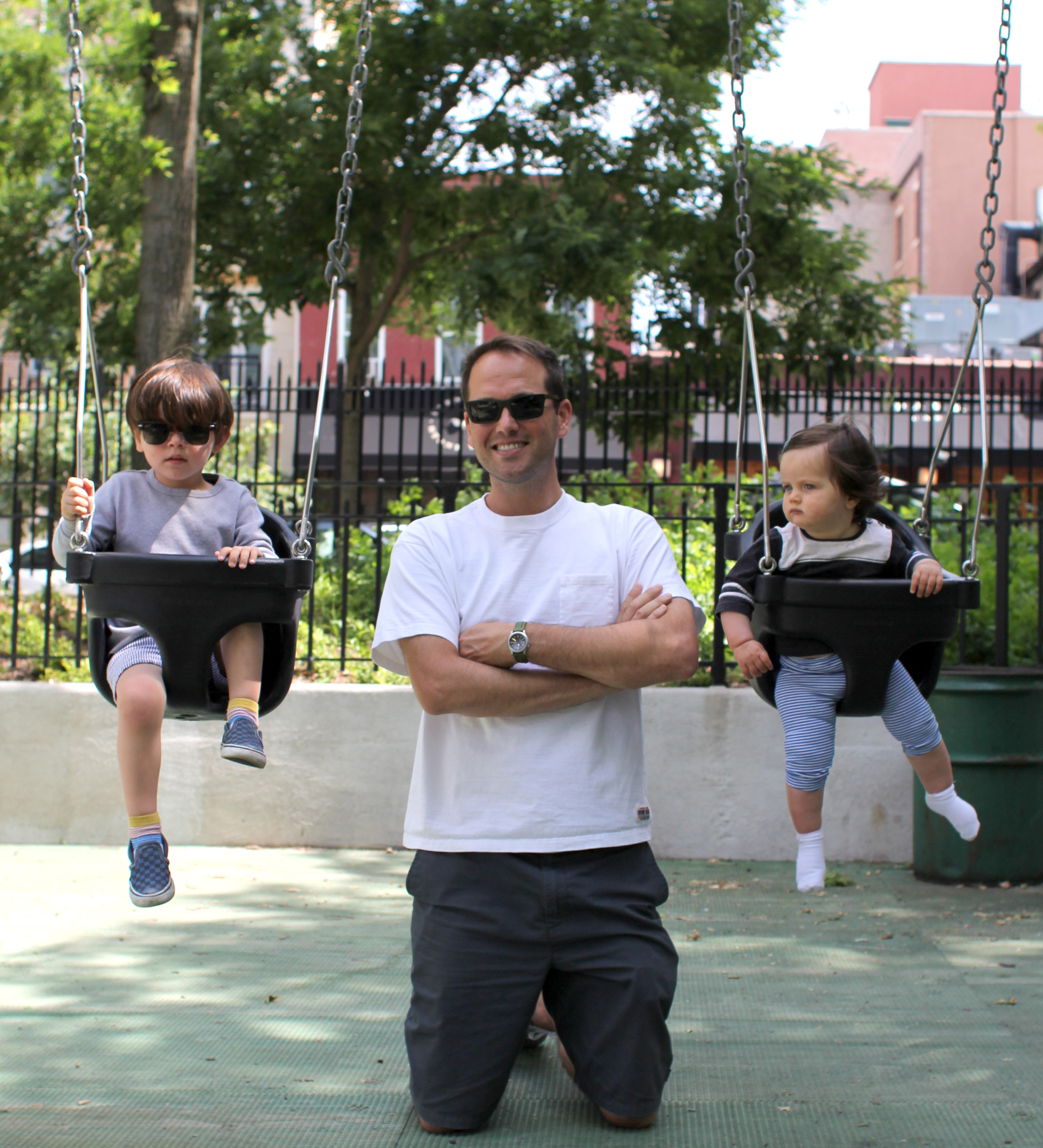 Happy father's day – your third as a father and first as a father of two.