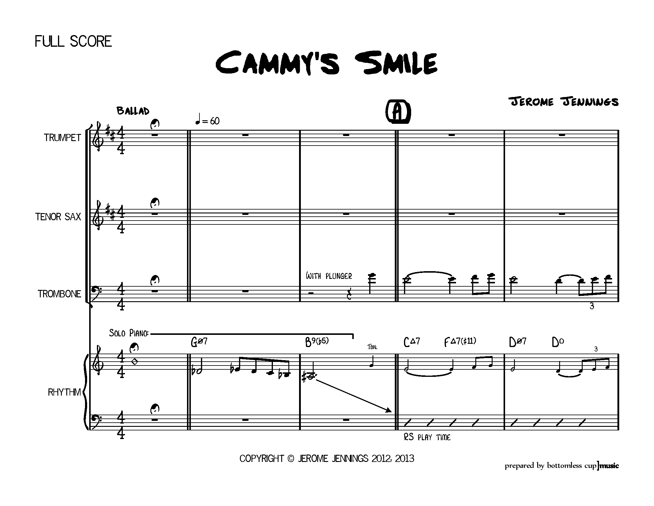 SCORE CLEANUP | Cammy's Smile