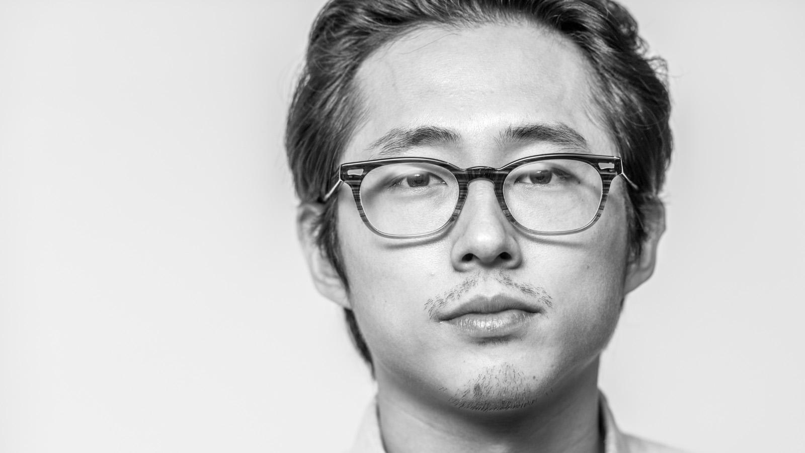 Steven Yuen portrait by Tony Urban