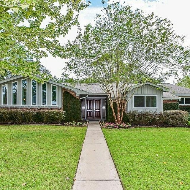 My New Listing Is Here!!! 5335 Valkeith Dr, Houston, TX 77096.  It's a Newly Renovated and Fabulous 4 bdrm 2 1/2 bath Mid Century Modern Home in the Meyerland area. Zoned to Kolter, Meyerland Middle School, and Bellaire High School. This beautiful corner lot DID NOT FLOOD during Hurricane Harvey and never has(per seller). It has High ceilings, Built-ins, Quartz countertops, Fireplace, Walnut hardwood floors in bedrooms, study, and dining. It also has very beautiful and exquisite  tile throughout. The Master Suite is spacious, and the master bath has a dual shower (his and hers), along with its very own private access door to the patio. Comes with a Sprinkler system as well (No more moving the sprinkler yourself). To many features and amenities to list!!! This is a Houston Strong Home!! Open house this Sunday 10/8/2017 Time: 12-4pm. Be ready to make an offer!! #remaxgrand #remaxgrandlll #searchlightllc #kenreynolds #theblvd.info #luxury #cozy #family #everythingyouwantinahome #meyerland