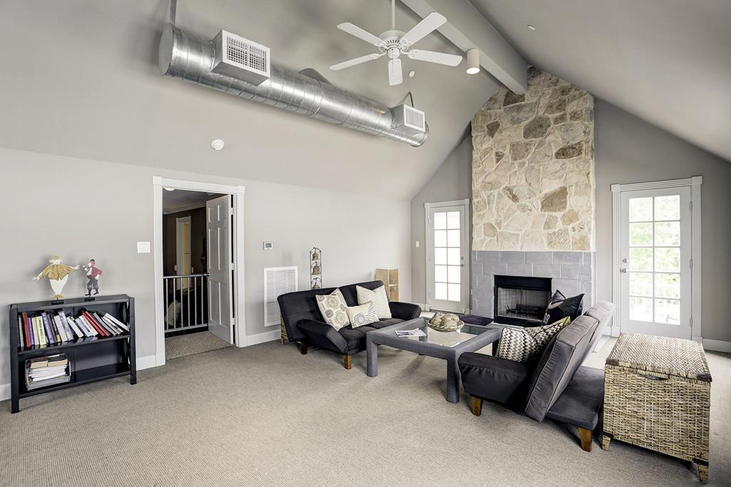Game Room or Upstairs Den