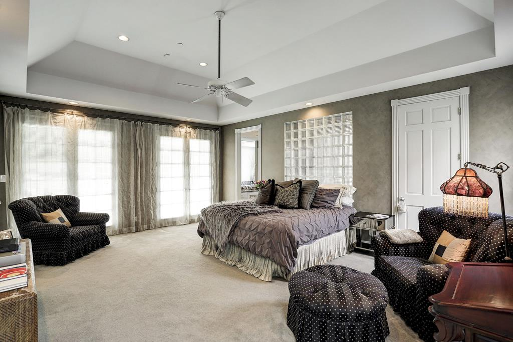 1st Master Bedroom - Downstairs