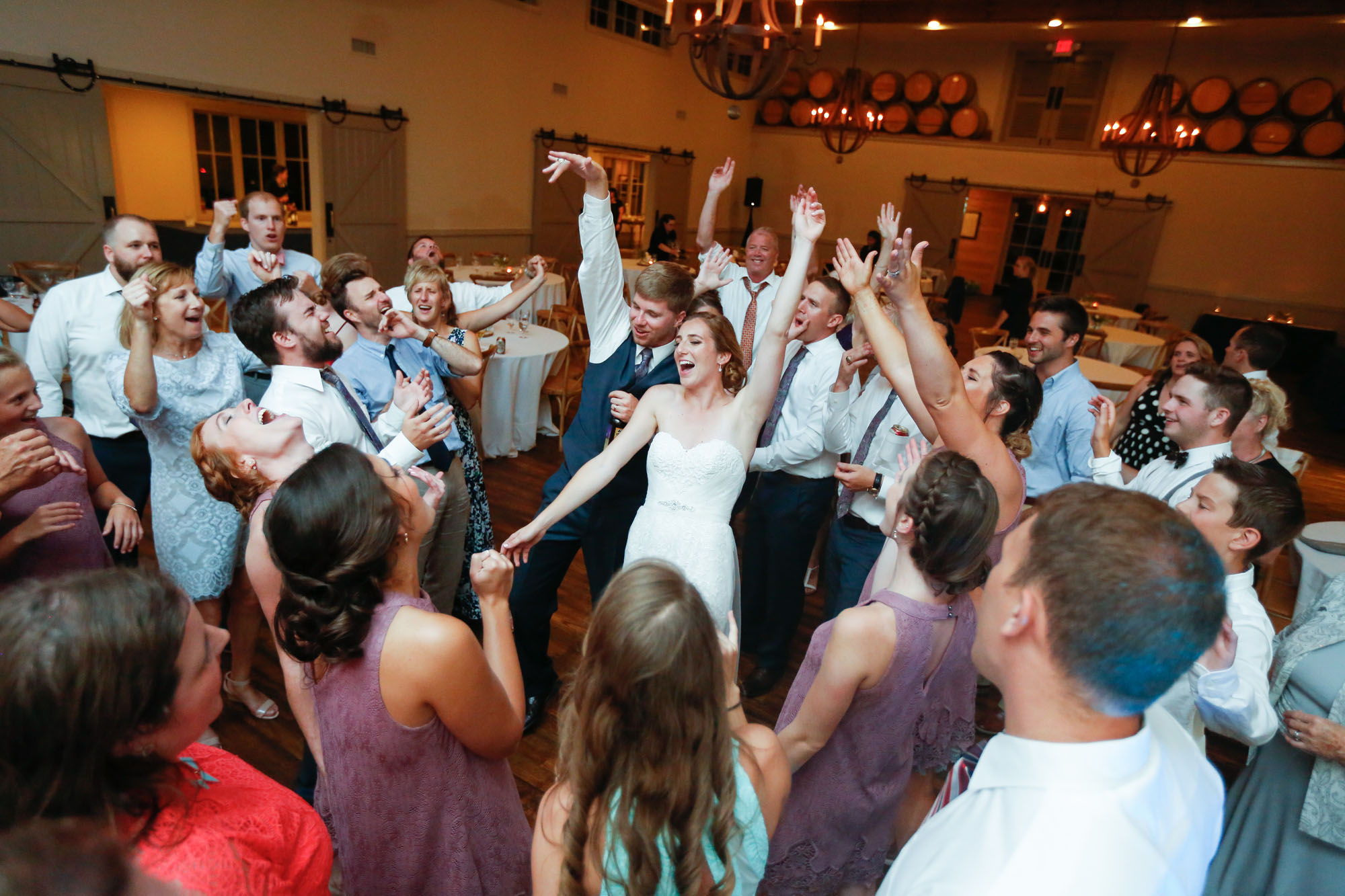 7/7/17  Crozet, VA - Cody and Mady's Wedding at King Family Vineyard.
