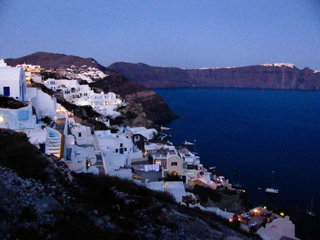 Santorini-Oia-Greece-Dusk