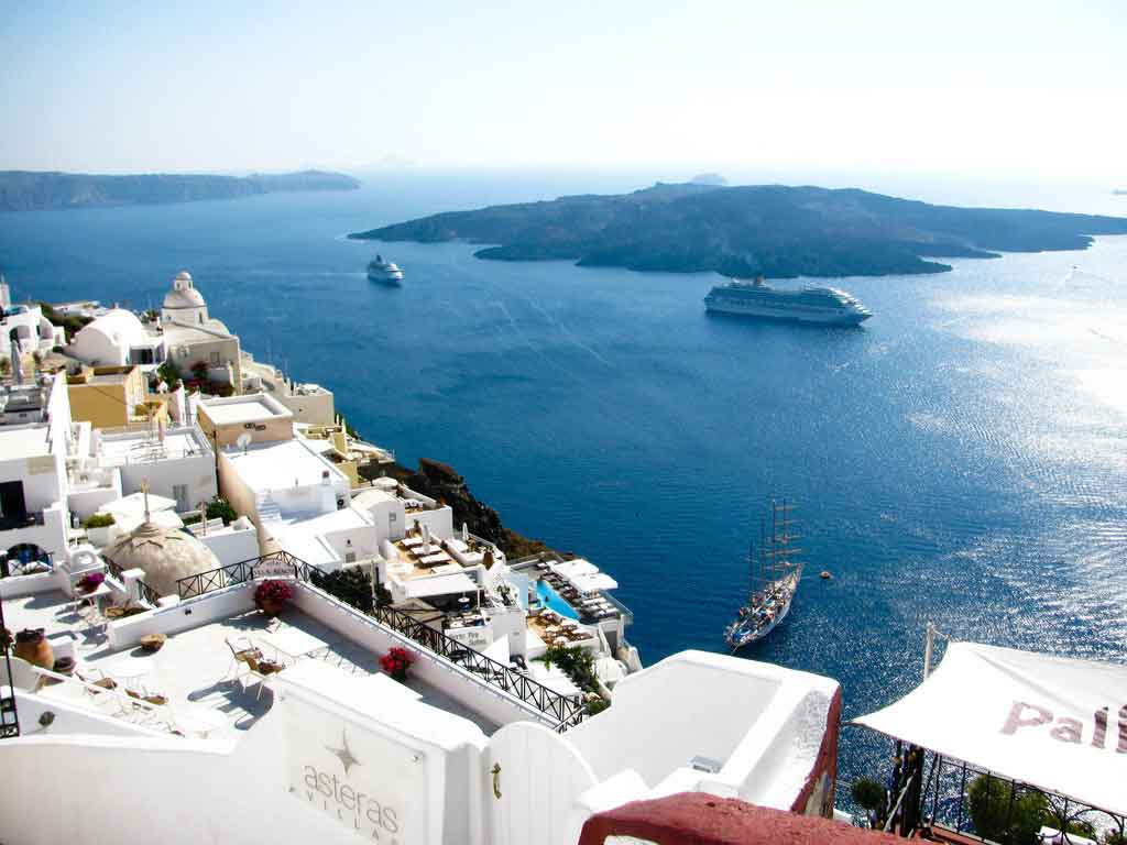 Santorini-Greece-Fira-Caldera