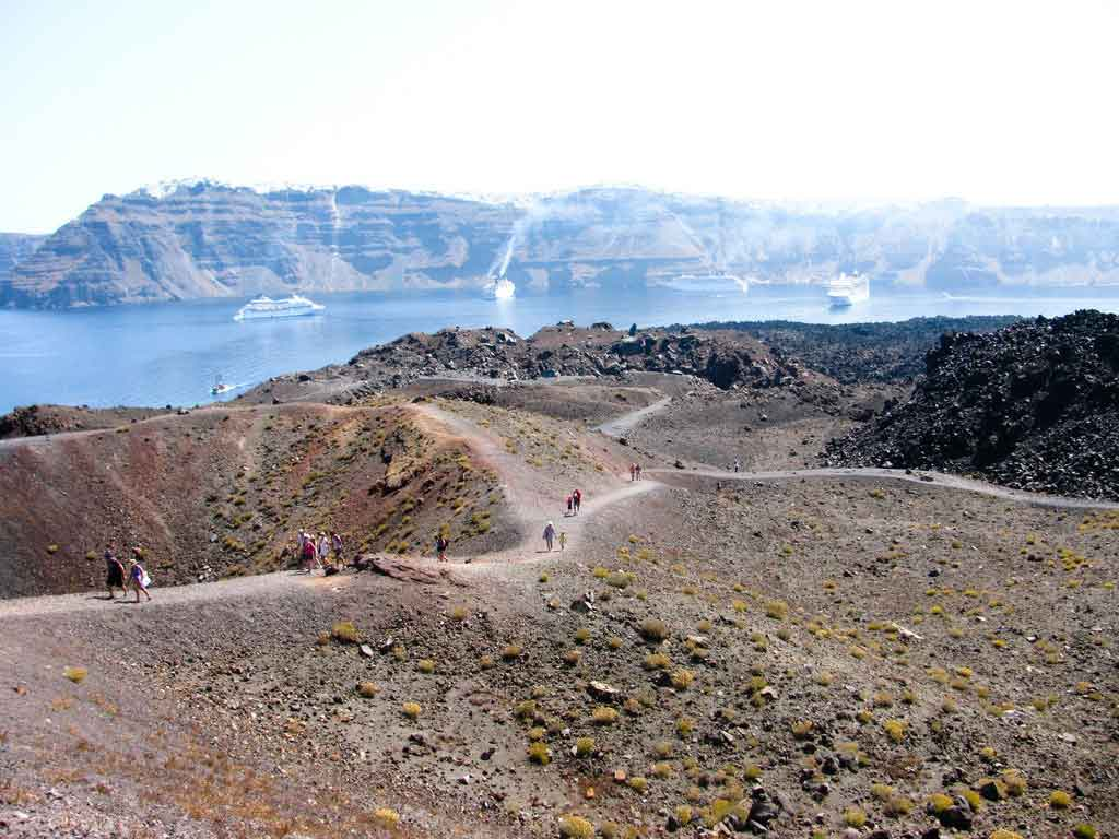 Santorini-Greece-Nea-Kameni