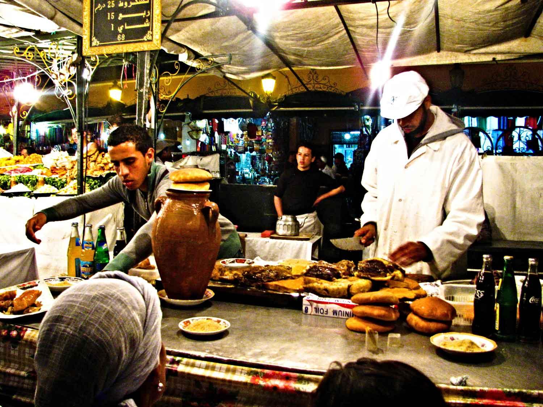 Marrakech-Morocco-Market