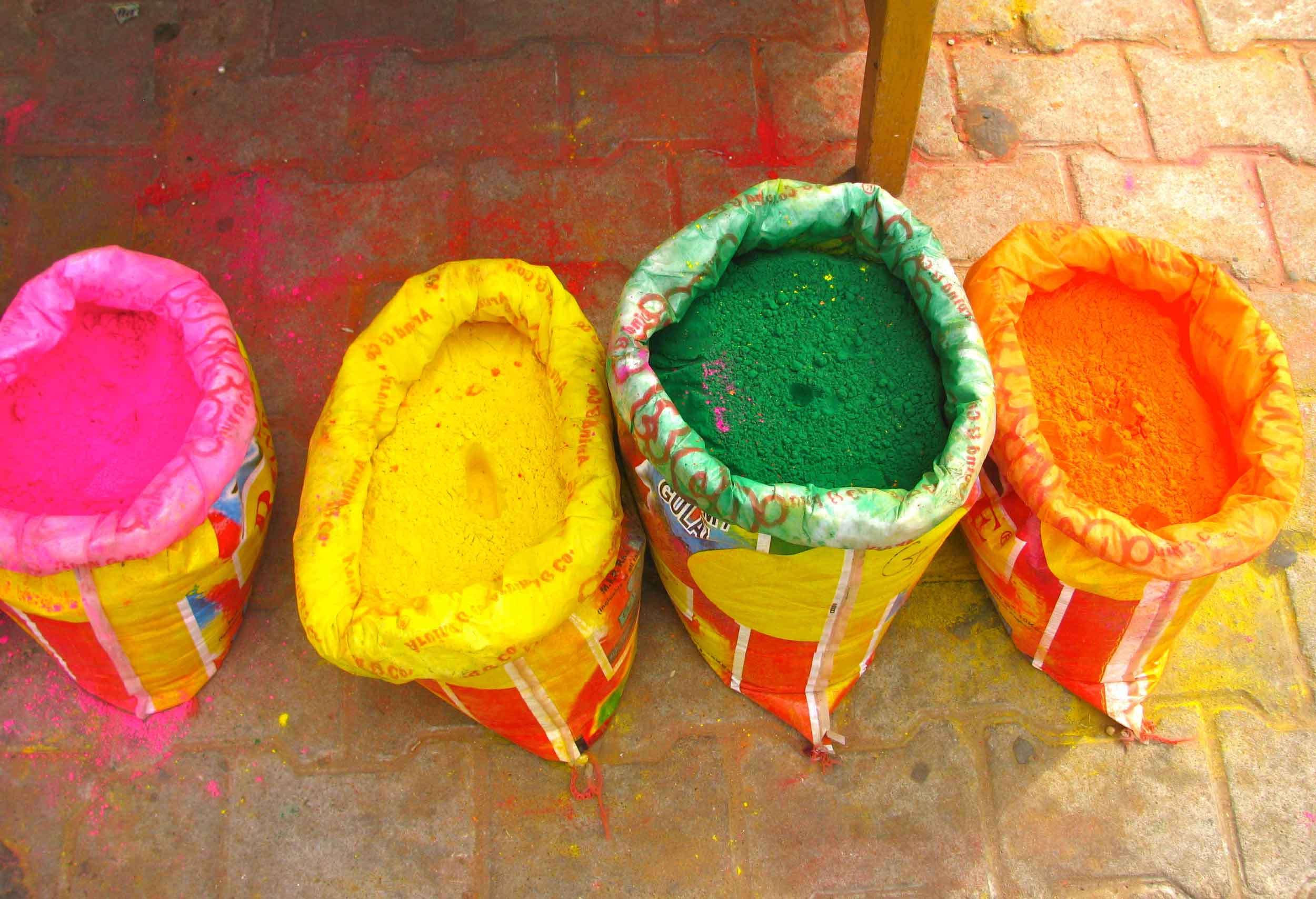 Holi-Colored-Powder-India