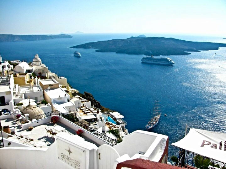Santorini-Fira-Greece