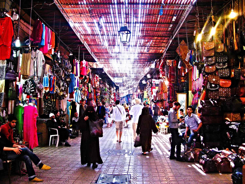 Morocco-Marrekech-Shopping
