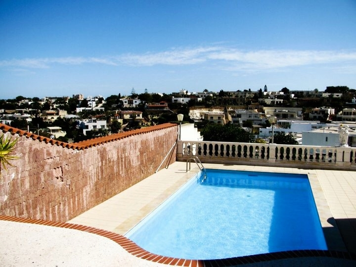 The view from a vacation rental shared with friends in Malta.