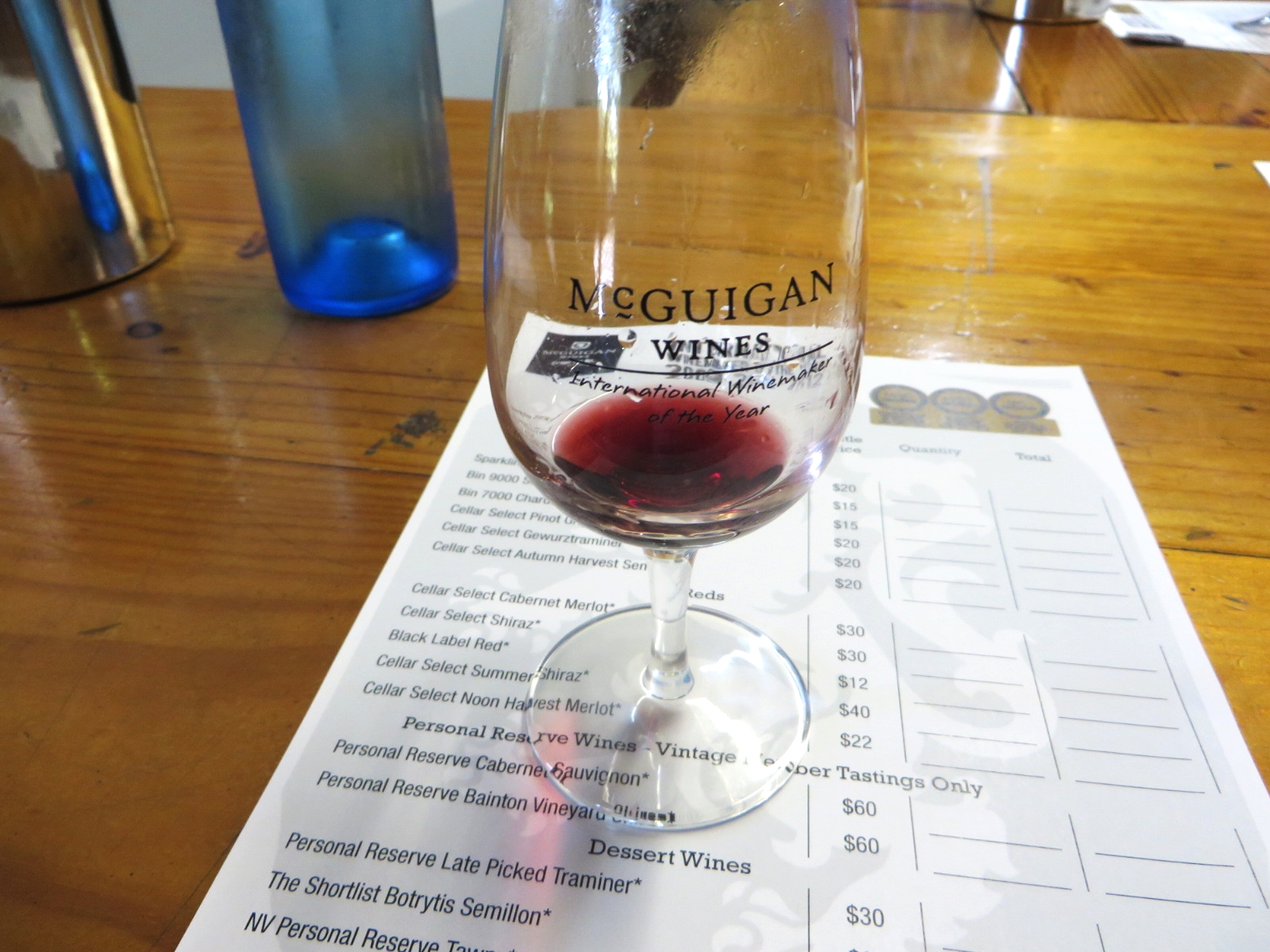 Wine Tasting in Australia's Hunter Valley