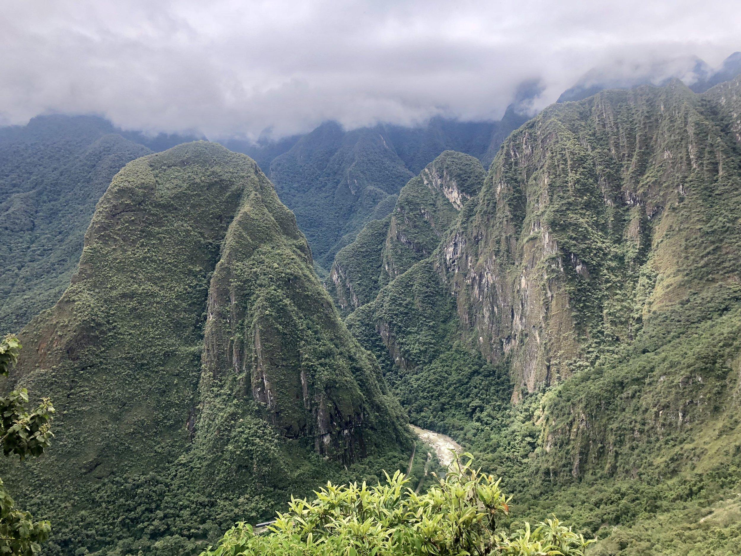 Bus ride Machu Picchu